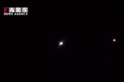 Предположительно, ракеты, запущенные иранскими военными