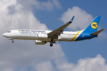 На Украине заявили о полной исправности рухнувшего в Иране самолета