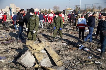 Основной версией крушения украинского самолета в Иране предложили считать теракт