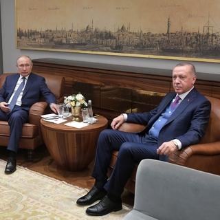 Президенты Путин и Эрдоган