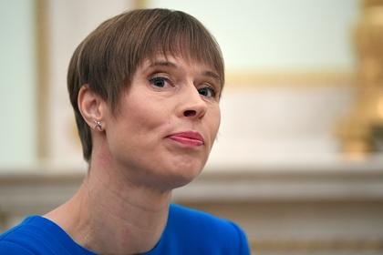 Президент Эстонии отказалась брать крымское вино в подарок