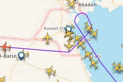 Британский самолет выполнил экстренный разворот над Ираком после атаки Ирана