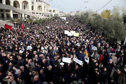 Протесты против убийства Сулеймани