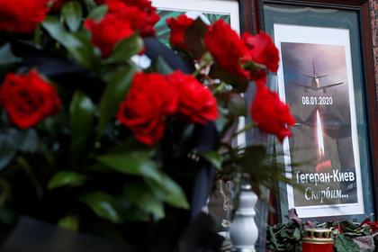 На Украине объявили траур по жертвам авиакатастрофы в Иране