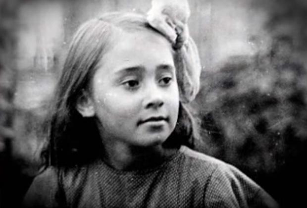 Лека Миронова в детстве
