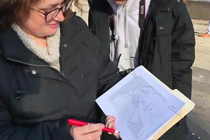 Американцы не смогли найти Иран на карте мира