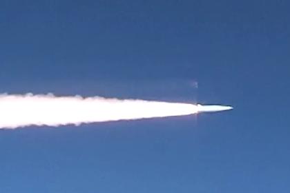 Запуск «Кинжала» в Черном море показали на видео