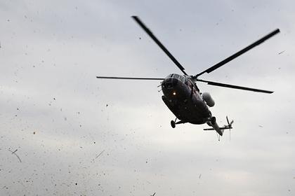 Аварийно севший на Таймыре вертолет перевозил школьников