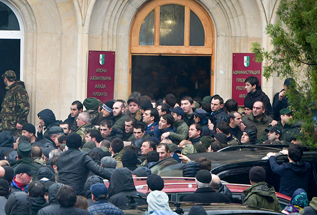 Штурм президентского дворца, 9 января 2020 года