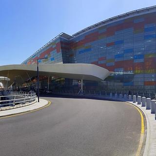 Здание аэропорта Звартноц
