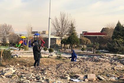 Место крушения украинского лайнера в Иране расчистили от улик