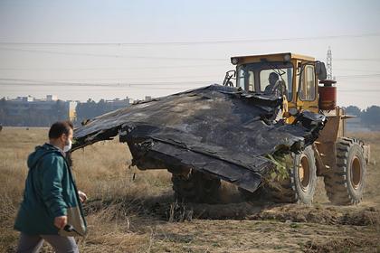 Иран открестился от зачистки бульдозером обломков упавшего «Боинга»