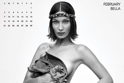 Самая красивая женщина в мире снялась обнаженной для календаря