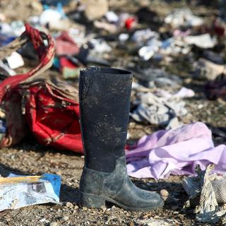 Вещи пассажиров сбитого Boeing 737-800