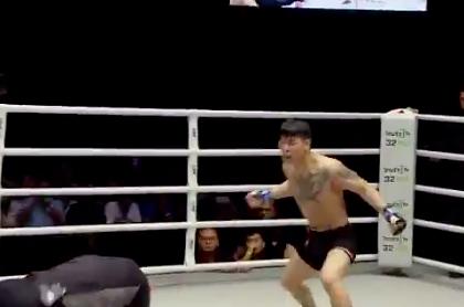 Боец MMA напал на судью после поражения