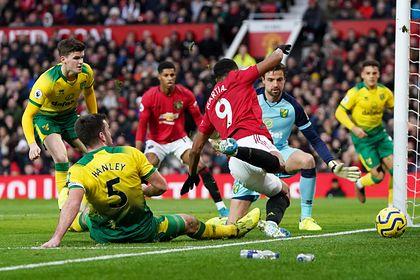 «Манчестер Юнайтед» разгромил худшую команду АПЛ