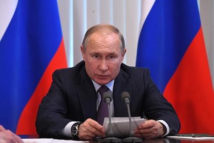 Путин выступил за бессрочный закон о статусе Донбасса