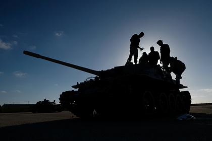 Бойцы ЧВК Вагнера покинули линию фронта в Ливии