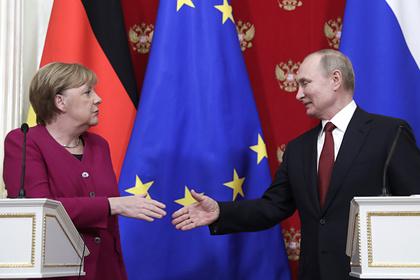 В отношениях Путина и Меркель заметили дружелюбие