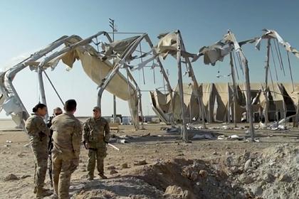 Военные описали атаку Ирана на американскую базу