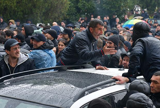 Беспорядки в Сухуми 9 января 2020 года