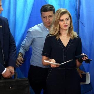 Владимир Зеленский и Елена Зеленская