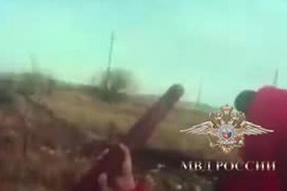 Стрельба марихуаной из пневмопушки по российской колонии попала на видео