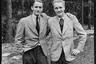 Хайнц-Олаф Крамер (слева) со своим другом. Германия, 1941 год.