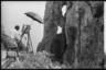 Художник на пленэре. Капри, Италия, 1941 год.