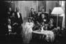 Свадьба друга Хайнца-Олафа Крамера, обер-лейтенанта дивизии противовоздушной обороны. Семья Крамеров слева. Германия, 1943-1945 годы.