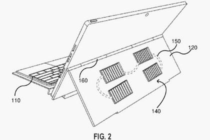 Microsoft изобрела ноутбук на солнечной энергии