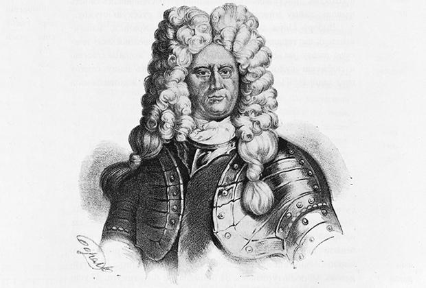 Российский адмирал норвежского происхождения, стал первым командующим Балтийским флотом. Именно после встречи с ним Витус Беринг был нанят на службу в русский флот.