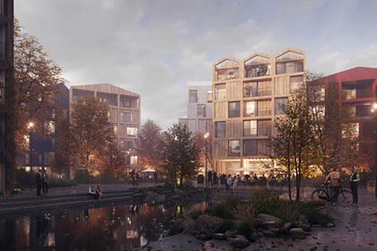 Необычный жилой район построят в Дании