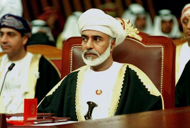 Кабус бен Саид на заседании Совета сотрудничества арабских государств Персидского залива, декабрь 2019 года