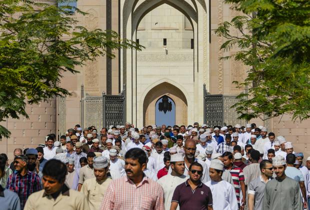 Мечеть Султана Кабуса в городе Маскате