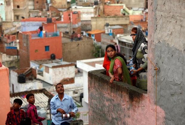 Жители Старого Дели
