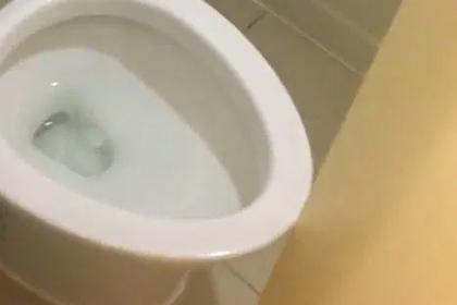 Слишком большой унитаз помешал мужчине закрыться в туалете гостиницы