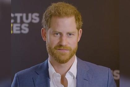 Принц Гарри сделал первое видеообращение после отказа от королевских привилегий