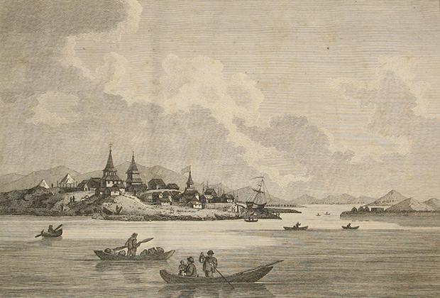 Одно из старейших русских поселений на Дальнем Востоке, которое стало отправным пунктом морских экспедиций, исследовавших северную часть Тихого океана и открывших западное побережье Русской Америки.