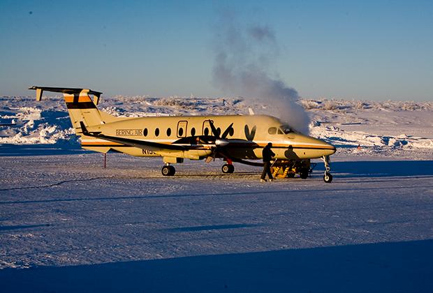 Bering Air — региональная авиакомпания США со штаб-квартирой в городе Ном американского штата Аляска — была основана в сентябре 1979 года частными инвесторами. Их самолеты осуществляют пассажирские и грузовые перевозки в пункты назначения США, Канады и России.