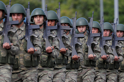 Эрдоган отправил войска в Ливию