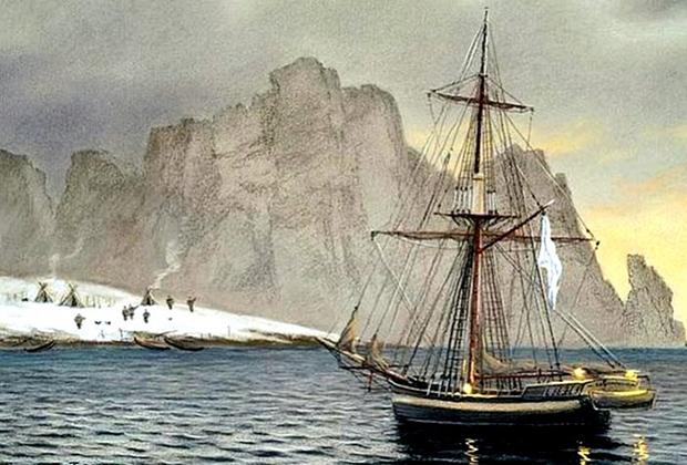 Бот строился строго по чертежам лучших военных кораблей. Судно имело длину по килю 18,3 метра, ширину по мидель-шпангоуту — 6,1 метра, и осадку в 2,3 метра. Из-за того, что строительство второго бота не было осуществлено, «Святой Гавриил» принял на себя всю предусмотренную для экспедиции артиллерию — семь фальконетов.