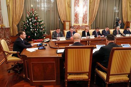В Госдуме назвали хорошо работавших министров правительства Медведева