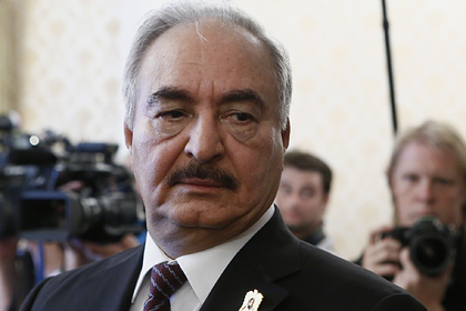 Хафтар пообещал соблюдать мирное соглашение по Ливии
