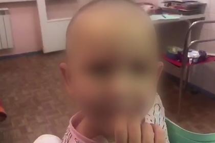 Россиянин обрил наголо шестилетнюю дочь, связал и избил ее палкой