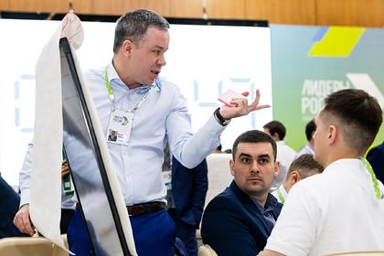 Объявлены первые финалисты конкурса «Лидеры России»