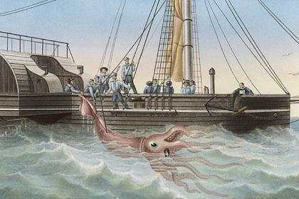 Решена загадка гигантских морских чудовищ