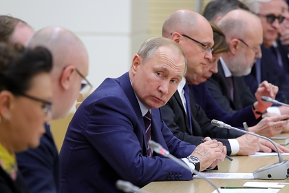 Путин внес в Госдуму учреждающий должность зампредседателя Совбеза законопроект