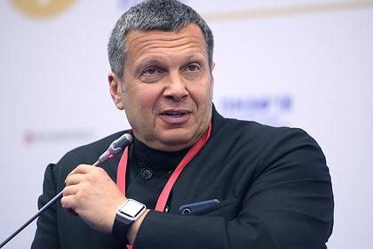 Соловьев накричал на эксперта в своем шоу