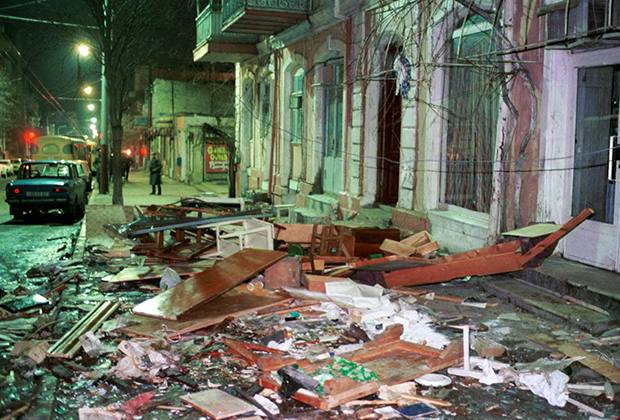 Баку, январь 1990 года